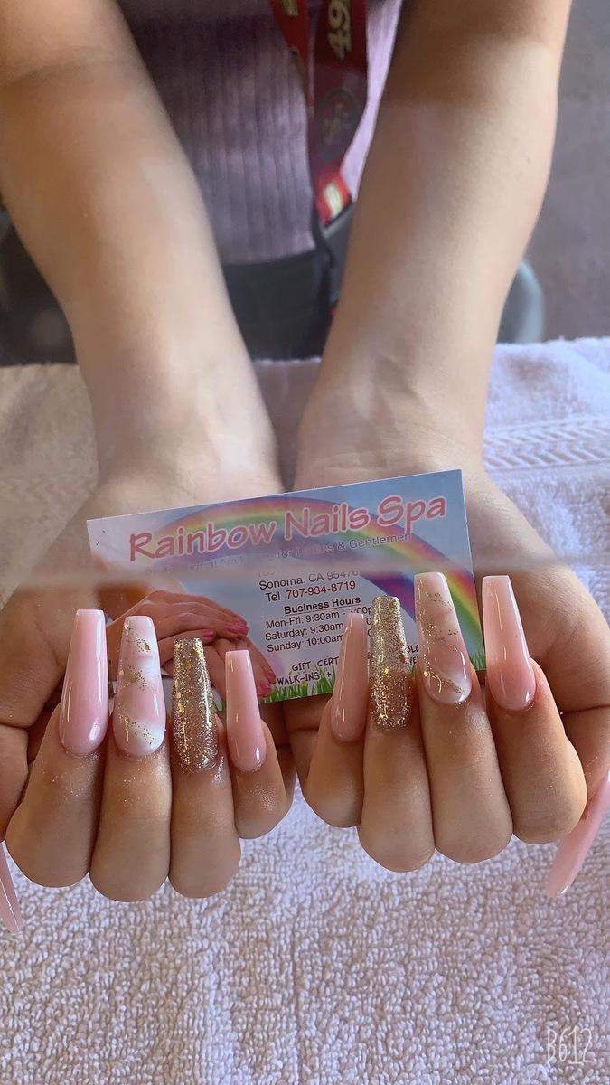 Rainbow Nails Spa - Nail salon Sonoma, CA 95476